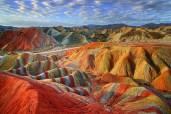 Zhangye Danxia Landform Geological Park, China5