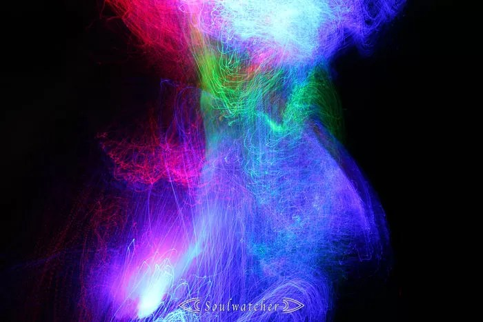 Soulwatcher - Lightpainting face