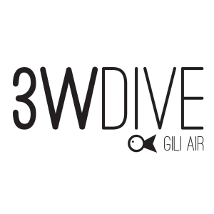 3W Dive Gili Air logo