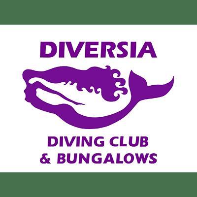 Diversia Diving Club and Bungalows logo