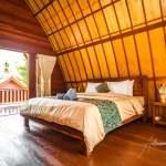 Gili Air Sanctuary, Indonesia, lumbung interior bedroom