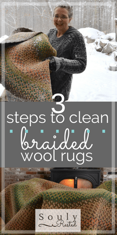 How To Clean a Braided Wool Rug-2