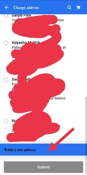 how to change billing address in flipkart after order placed