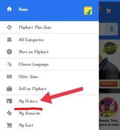 Change Shipping address on Flipkart