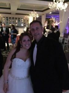 Rocking it with Deb at her wedding this past Sunday