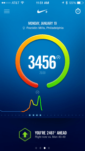 Nike App and Fuel band.