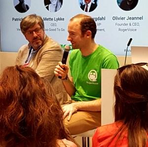 Olivier Jeannel explains RogerVoice at Web Summit 2017