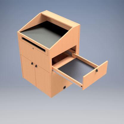 customizable teacher podium