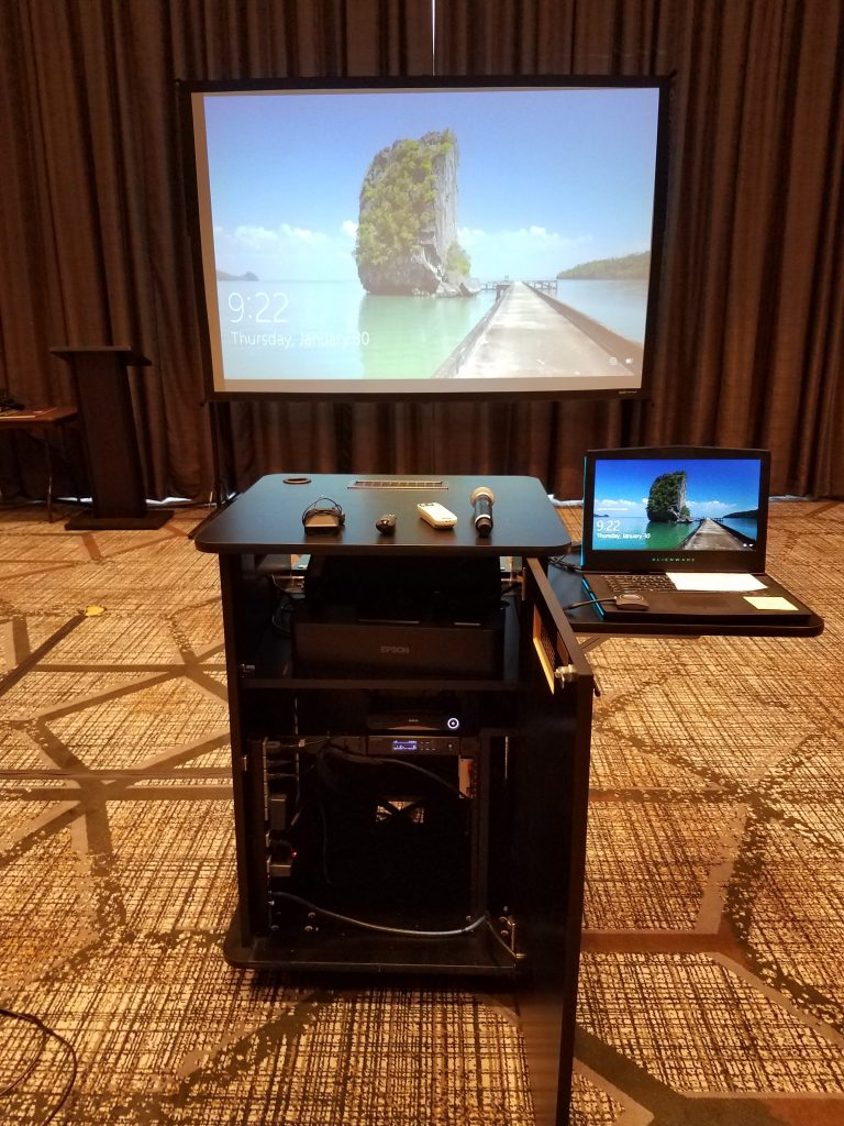 The Projector Multimedia Cart