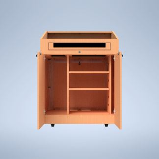 The Presenter with Adjustable Shelf purchase a podium online