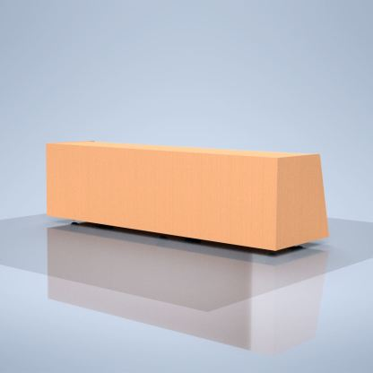 wood veneer base for large screens