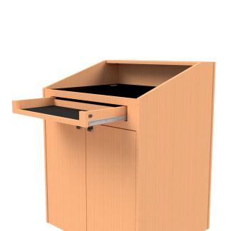 podium keyboard drawer