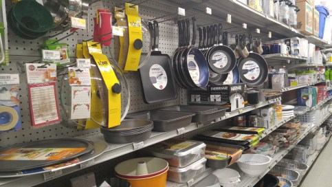 We carry Lodge, Mirro, Corelle, and more.