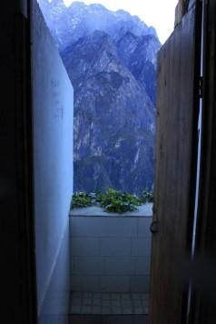 Вид из туалета