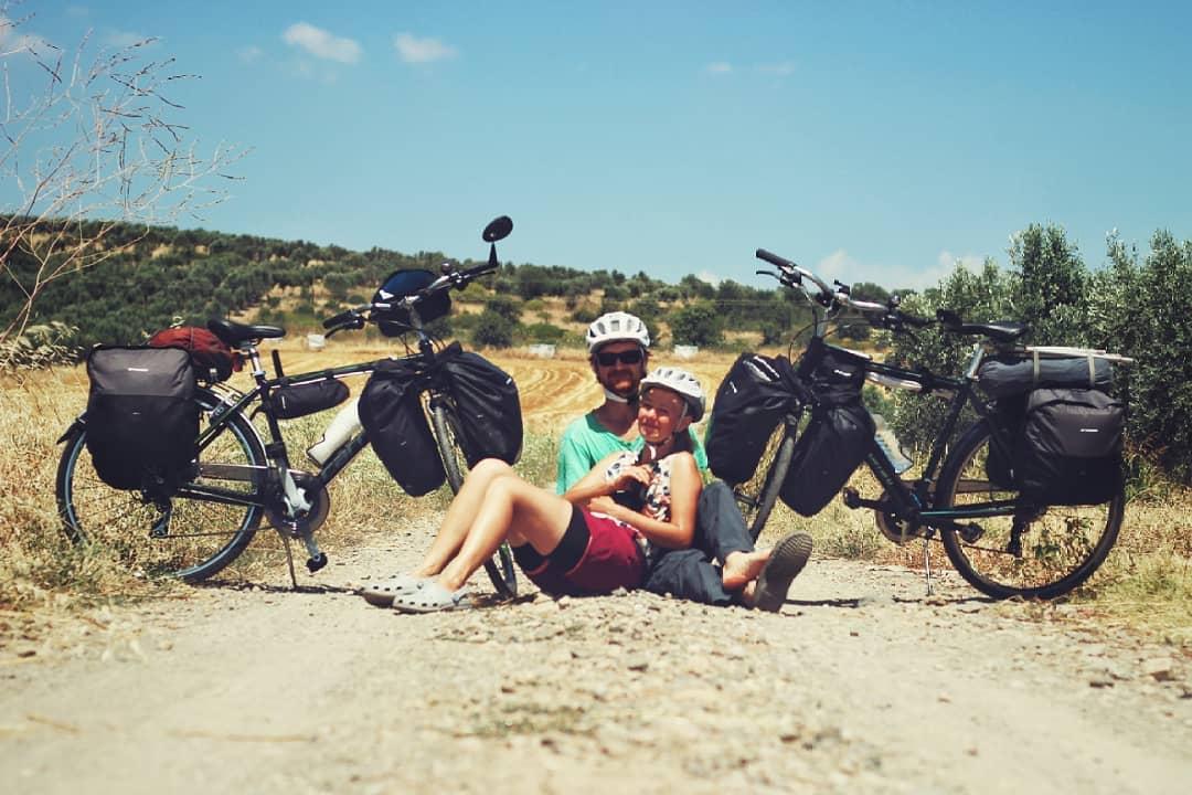 Мы пересекли океан и пересели на велосипеды
