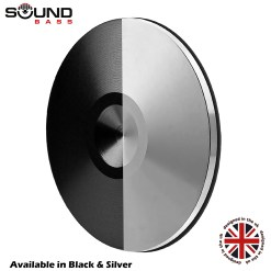 Set of 8 Satin Hi-Fi Spike Shoes Isolation Pads by Soundbass