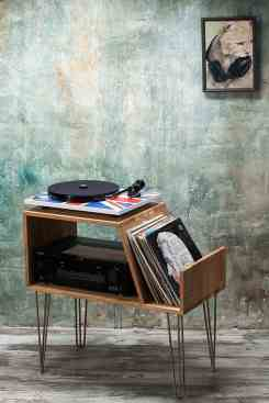 Lumiwood Record Player Stand