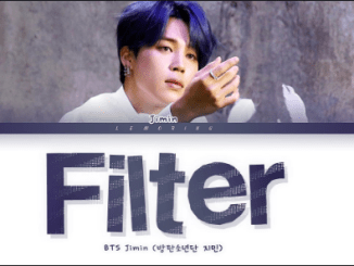 BTS – Filter Download Mp3 320kbps