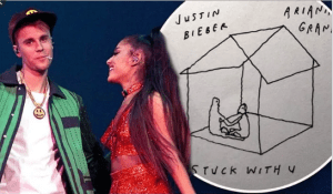 Justin Bieber & Ariana Grande – Stuck With You Mp3 Download 320kbps