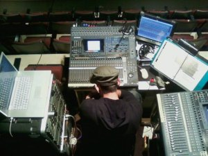 GW Rodriguez at work