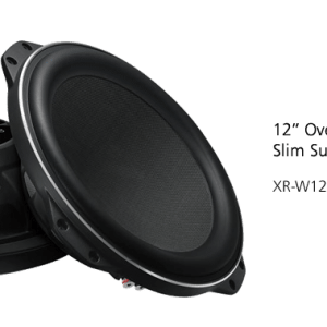 xr-w12f car subwoofers