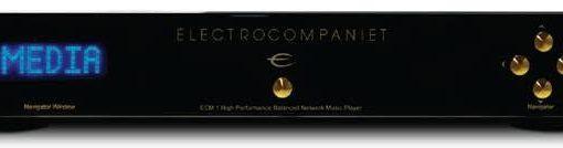 Новый сетевой балансный стерео плеер Electrocompaniet ECM 1