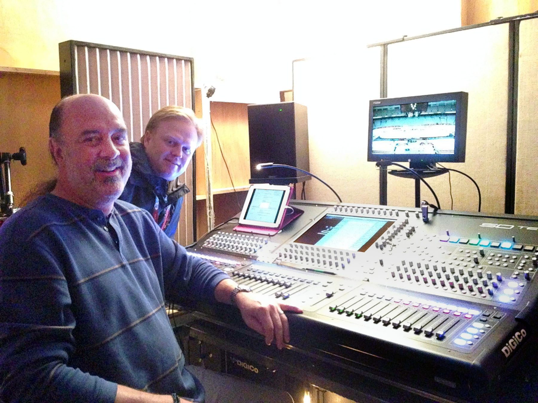 DiGiCo Takes the Ice for 2014 NHL Winter Classic, Stadium