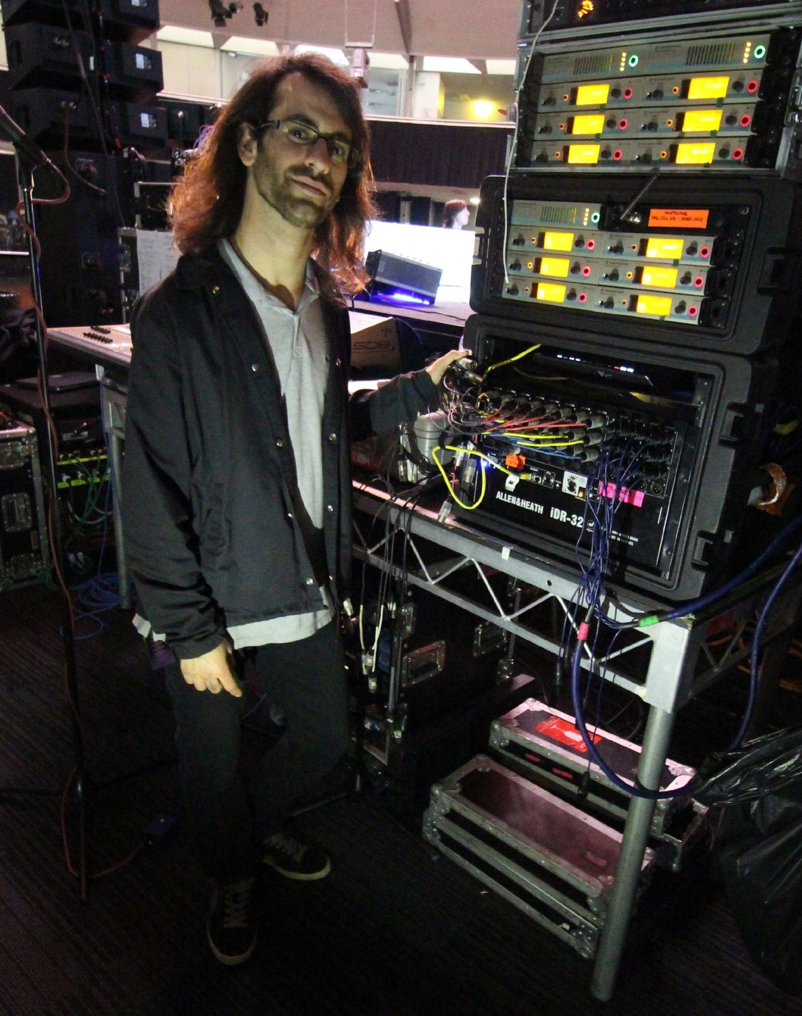 Australian Metal Band Tours with iLive Rack Monitor System
