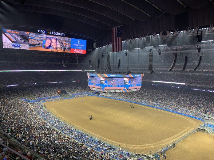 This year's RODEOHOUSTON sounded better than ever thanks to a huge L-Acoustics system flown by LD Systems at NRG Stadium.