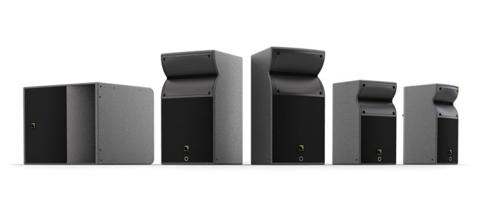 Install versions of the new L-Acoustics A Series line