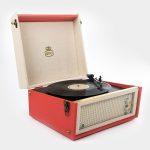 GPO Bermuda Vinyl Player red 3