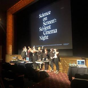 Science on Screen live score event.