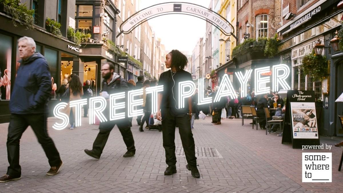 Street Player, le génial concept mêlant la house et la danse