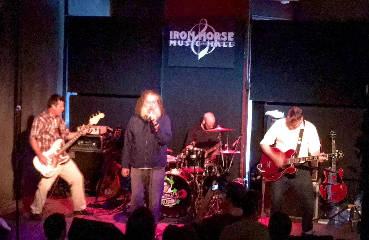 Miracle Legion on stage at the Iron Horse
