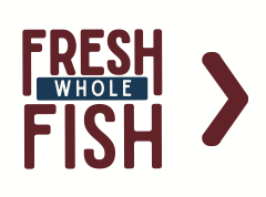 Signage for Fresh Whole Fish for Sound Leader Seafoods