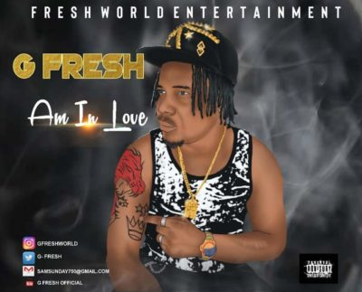 "[Audio + Video] G Fresh – ""Am In Love"""