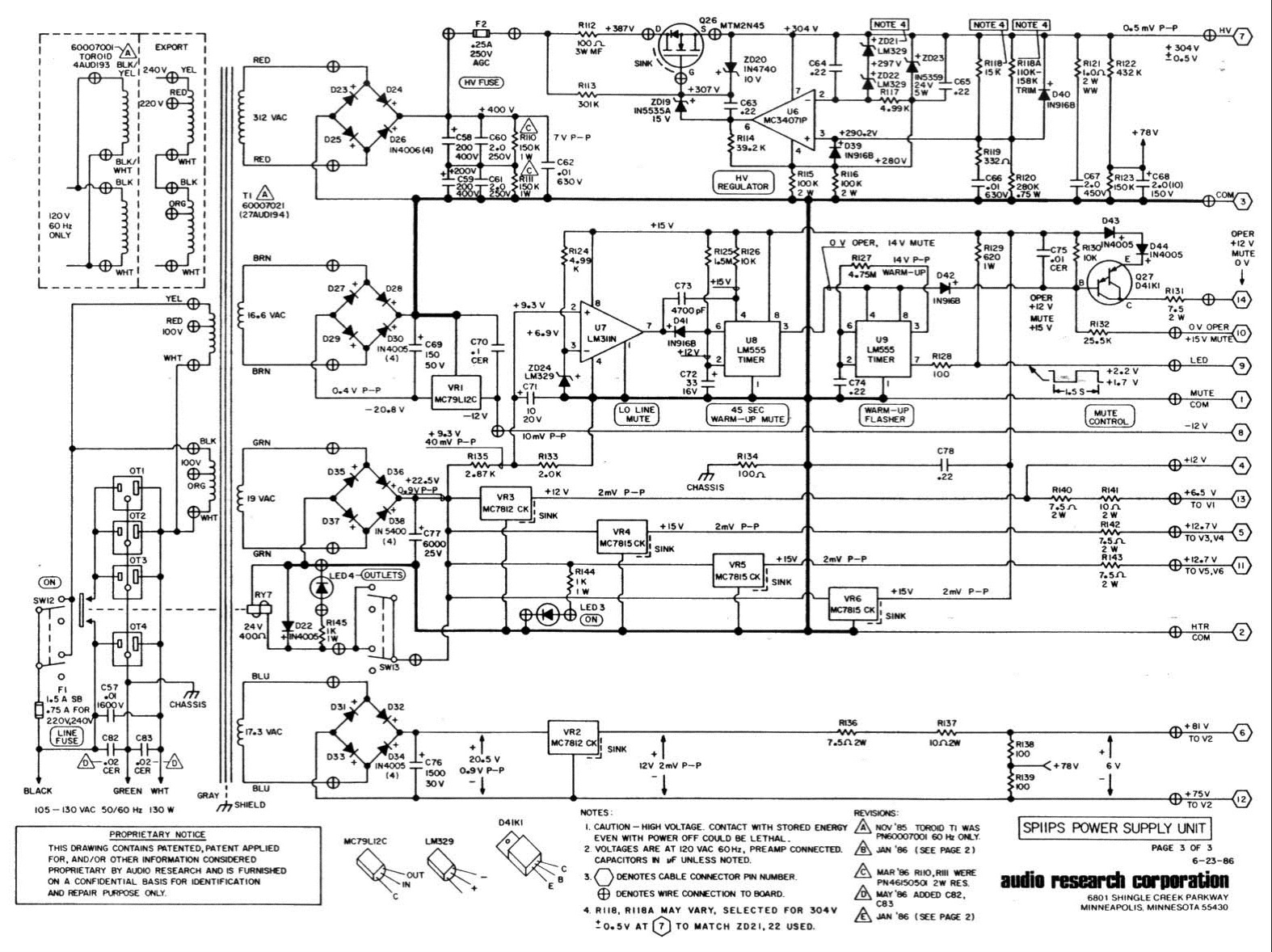 Tube Phono Preamp Circuits
