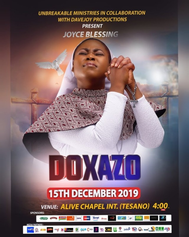 Joyce Blessing to Hold Doxazo 2019 on December 15th