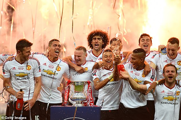 Since then, silverware has been scarce at Old Trafford with the 2016 FA Cup a rare success