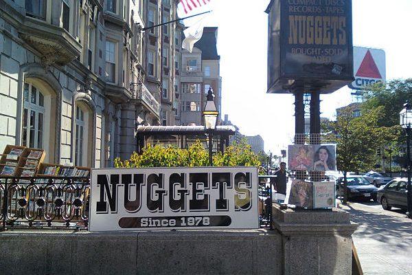 the record hunter nuggets records sound of boston boston music blog. Black Bedroom Furniture Sets. Home Design Ideas