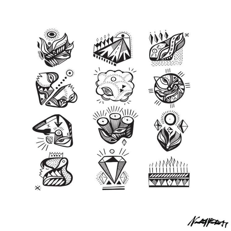 Twelve Album Artwork by Nadia Westcott