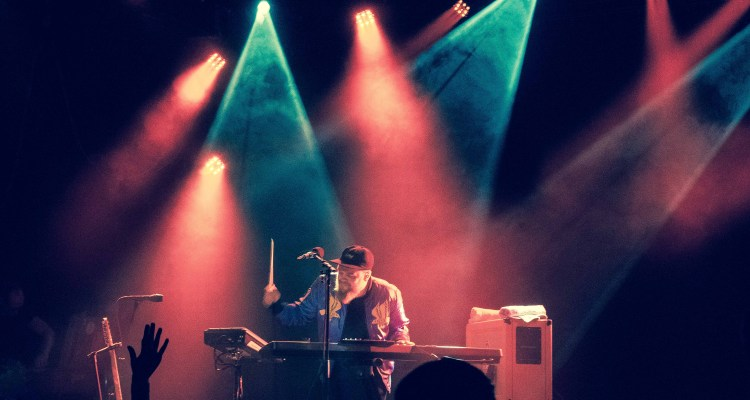 Jack Garratt performing live at The Sinclair