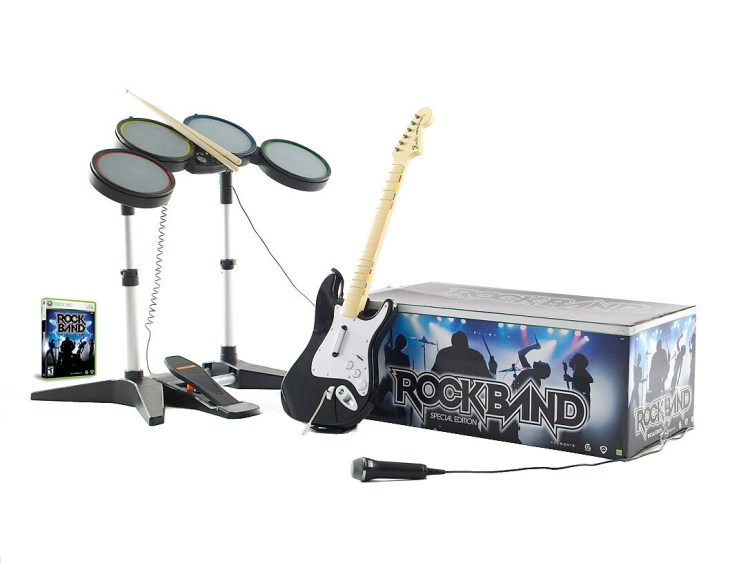 Instruments of choice for the family band