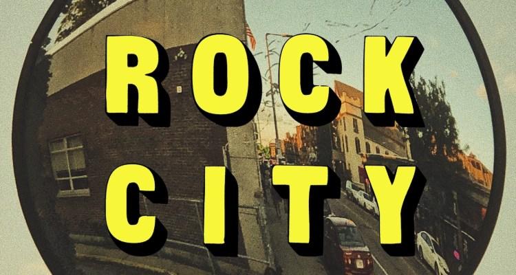 Rock City album art by The Maxims