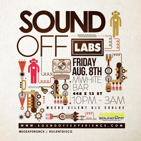 Sound Off Labs - M White Bar - August 8