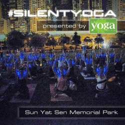 Sound Off #SilentYoga