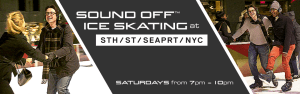 Sound Off Ice Skating at South Street Seaport