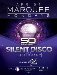 Marquee Mondays in The Library Bar at The Cosmopolitan Flyer