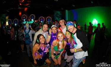 Decadence 2015 – Party goers sporting their headphones and more!