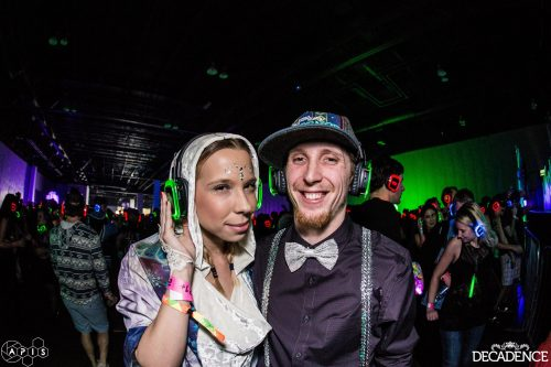 Decadence 2015 – Enjoying the silent disco